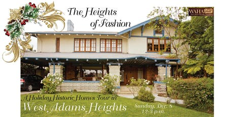 Holiday Historic Homes Tour in West Adams Heights tickets