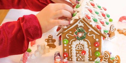 Gingerbread Decorating with Santa