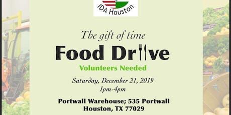 IDA Food Drive Community Service Event tickets