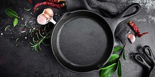 Cooking with Cast Iron (without Take Home Pan), with Matt Rice