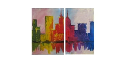 """Couples"" Paint Party at J. Gilligan's in Arlington I 02.11.20"
