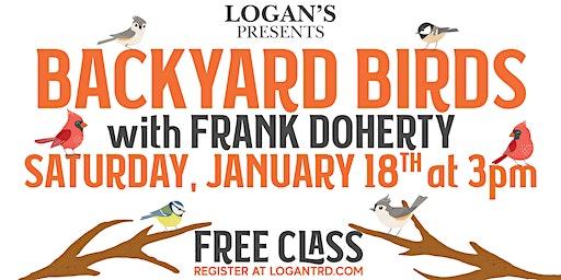 Backyard Birds with Frank Doherty