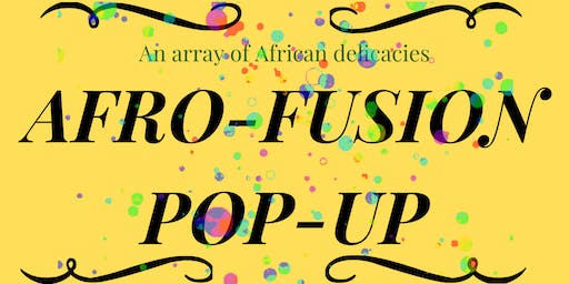 Afro-Fusion Pop-Up