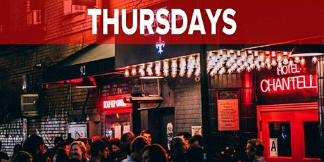 Thursdays at Hotel Chantelle (Rooftop Lounge & Club Party & Dining) NYC tickets