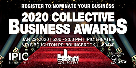 2020 Collective Business Awards tickets