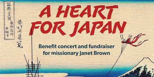 A Heart for Japan - Janet Brown Benefit Concert