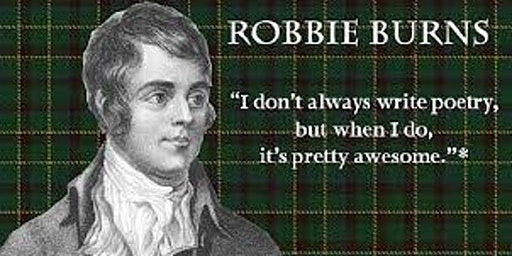 Robert Burns Night Upstate South Carolina 2020