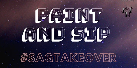 Paint and Sip #Sagtakeover tickets