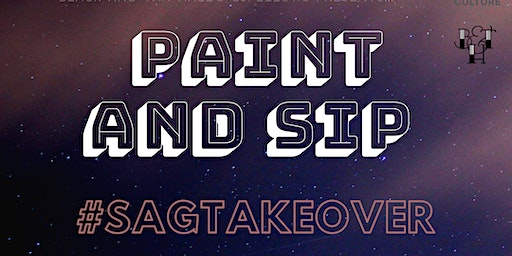Paint and Sip #Sagtakeover