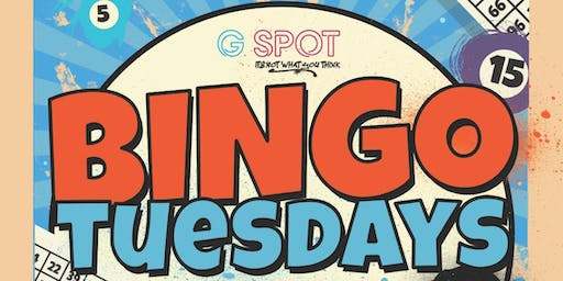 Dirty Bingo & DJ - Tuesdays @Gspotbar