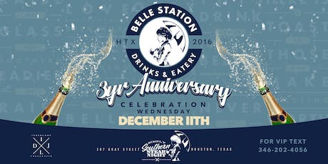 Belle Station 3-Year Anniversary Celebration tickets