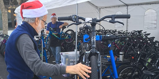 Toy Box Bike Giveaway for Gardner Health Services