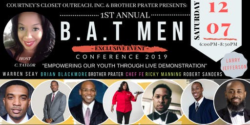 """B.A.T Men Conference 2019 """"Empowering Our Youth Through Live Demonstration"""""""