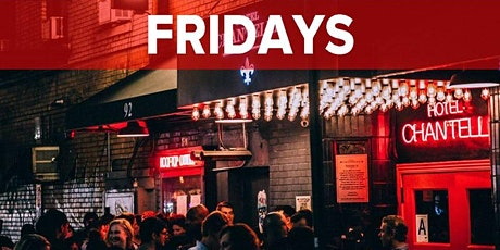 Fridays at Hotel Chantelle NYC (Rooftop, Dining & Nightlife Lounge/Party) tickets
