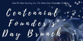 Zeta Phi Beta Sorority, Inc. Chi Delta Zeta Chapter Founders' Day