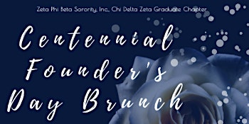 Zeta Phi Beta Sorority, Inc. Chi Delta Zeta Chapter Founders' Day