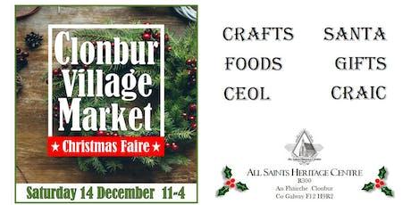 Clonbur Village Market Christmas Faire tickets