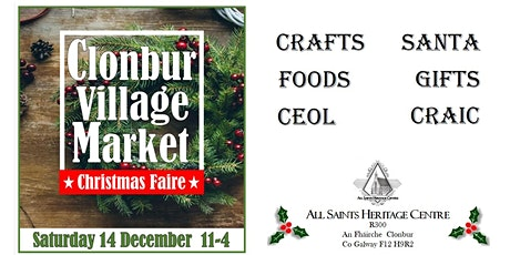 Clonbur Village Market Christmas Faire tickets