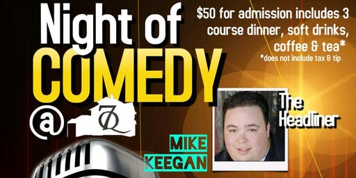 A Night of Comedy at Seven Quarts Tavern