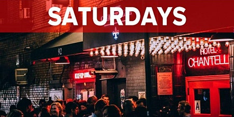 Saturdays at Hotel Chantelle NYC (Rooftop, Dining & Nightlife Lounge/Party) tickets