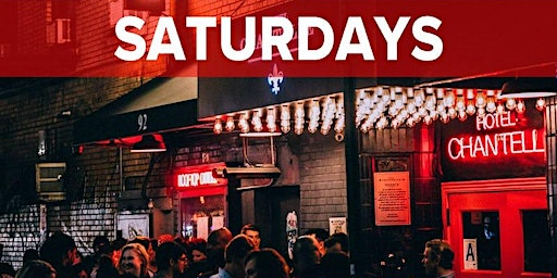 Saturdays at Hotel Chantelle NYC (Rooftop, Dining & Nightlife Lounge/Party)