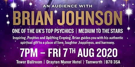 An Audience with Brian Johnson  Psychic Medium tickets