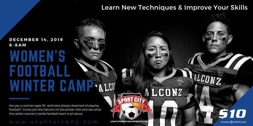 Utah Falconz Women's Football - December Camp