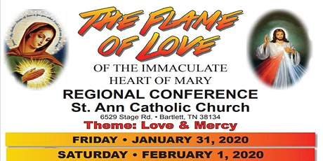 The Flame of Love of the Immaculate Heart of Mary Memphis Regional Conference tickets