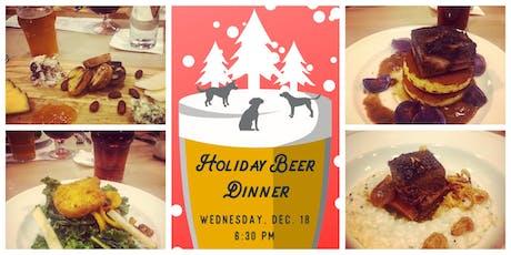 Holiday Beer Dinner tickets