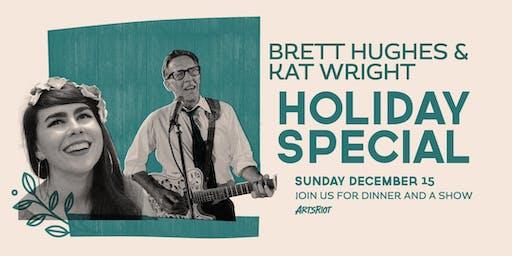 Brett Hughes & Kat Wright Holiday Special at ArtsRiot