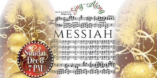 2019 MESSIAH SING ALONG - Sun DEC 8