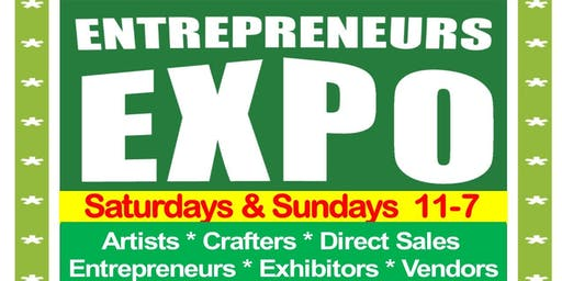 ENTREPRENEURS EXPO - Mall at Partridge Creek, December 7 & 8, 2019  crafters & vendors wanted