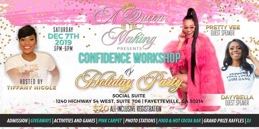 Young Ladies Confidence Workshop and Holiday Mixer