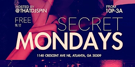 Secret Mondays tickets
