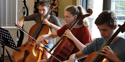 Advanced Cello Group December Christmas-y Session