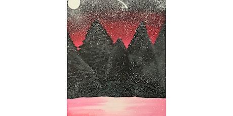 "Adult Open Paint (18yrs+) ""Winter Stars"" tickets"
