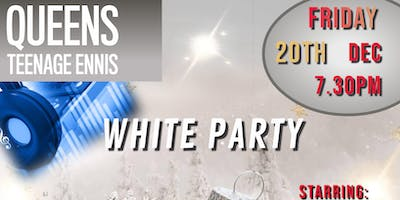 Queens Teenage Christmas White Party