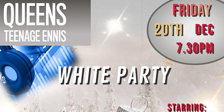 Queens Teenage Christmas White Party tickets