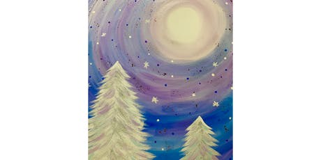 """Adult open Paint (18yrs+) """"Whimsical Winter"""" tickets"""