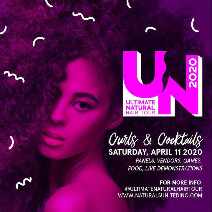 Houston Events April 2020.Curls Cocktails Houston Ultimate Natural Hair Tour