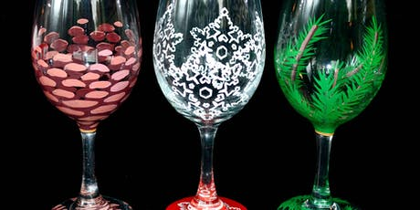 """Adult Open Paint (18yrs+) """"Winter Weather"""" Glasses tickets"""