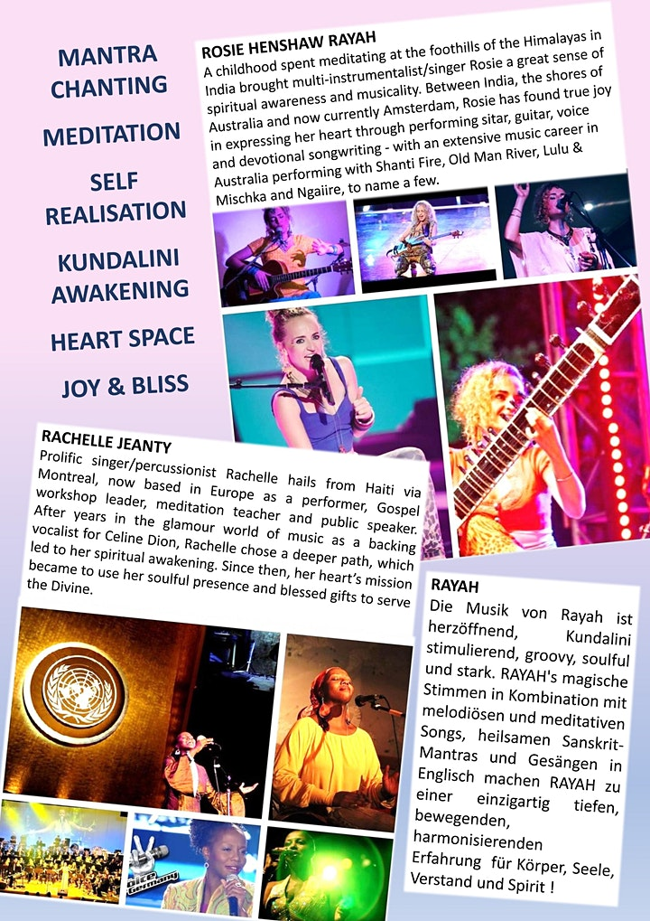 RAYAH - Spiritual Soul Concert: Bild