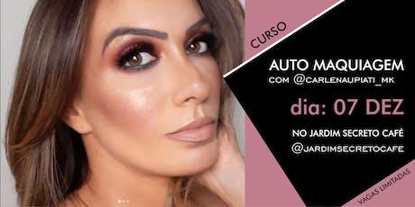 CURSO AUTO MAQUIAGEM com @carlenaupiati_mk tickets