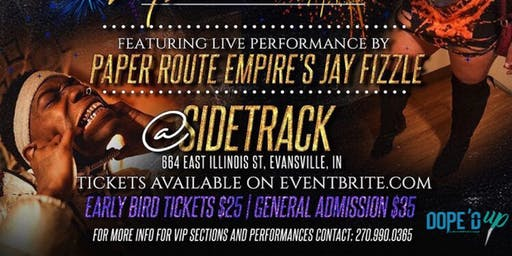 ICE ME OUT! NYE Bash featuring Paper Route Empire's Jay Fizzle!!