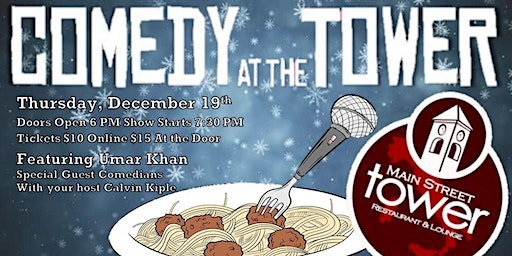 Comedy at the Tower- December Edition