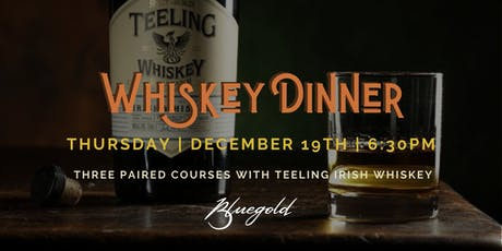 Teeling Whiskey Chef's Pairing Dinner tickets