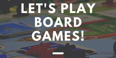 Let's Play Board Games tickets