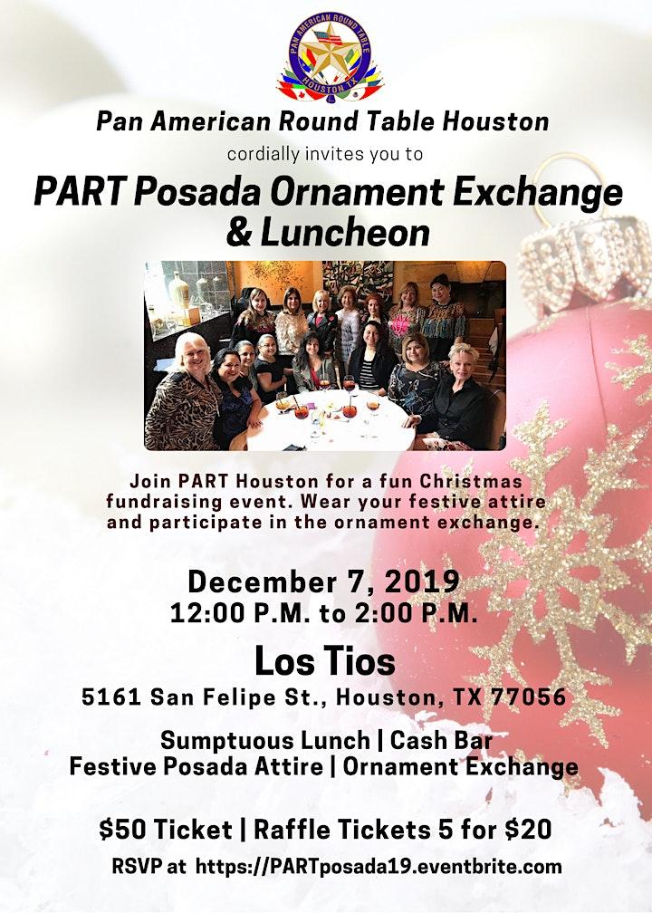 PART POSADA - Ornament Exchange and Luncheon! image