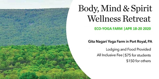 Body, Mind & Spirit Retreat at Eco Yoga Farm