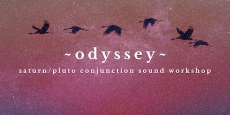 ~ODYSSEY~ Saturn Pluto Sound Bath | Berkeley tickets